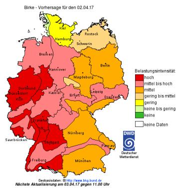 DWD Pollenflug